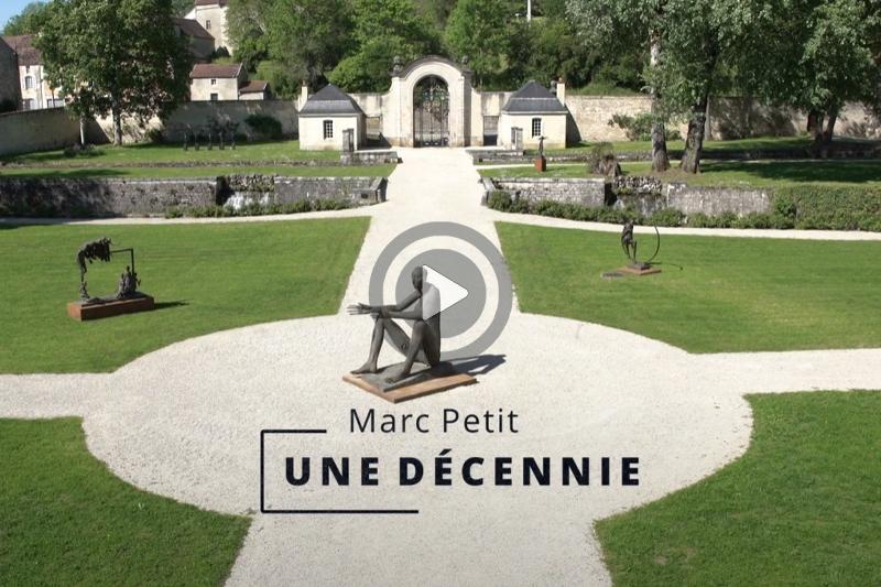 Teaser de l'exposition «Marc Petit «Une Décennie» à l'abbaye d'Auberive
